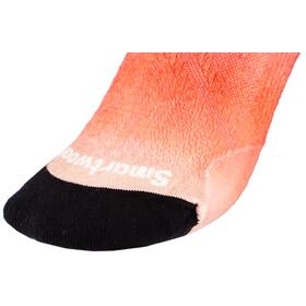 Smartwool PhD Run Ultra Light Micro Socks Ombre Print Women habanero